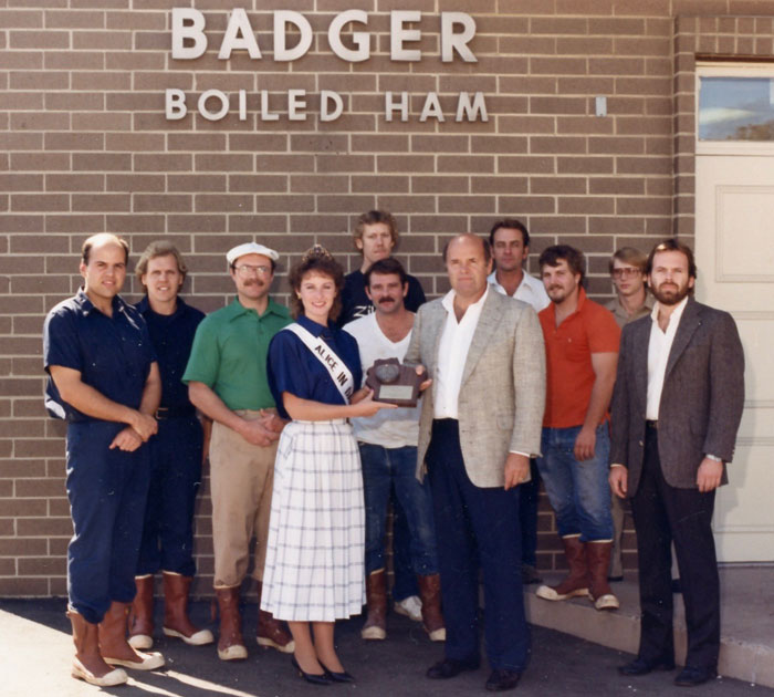 badger ham history award